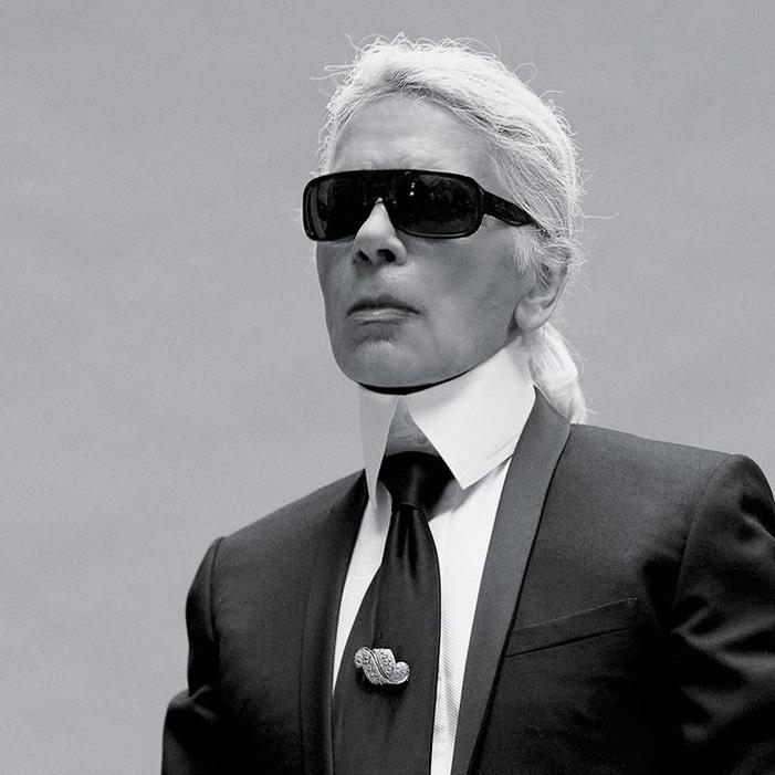 DB27 - مرد هزار چهره فشن Karl Lagerfeld