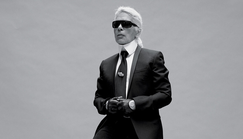 DB28 - مرد هزار چهره فشن Karl Lagerfeld