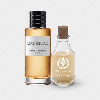 diorleatheroud1 350x350 - اسانس دیور لیدر عود - Dior Leather Oud Essence