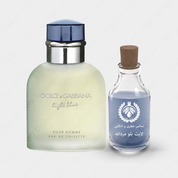 عطر دولچه گابانا لایت بلو مردانه – Dolce & Gabbana Light Blue Men Essence